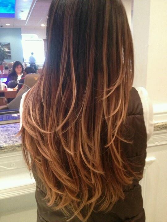 Resultado de imagem para ombre 2014 hair